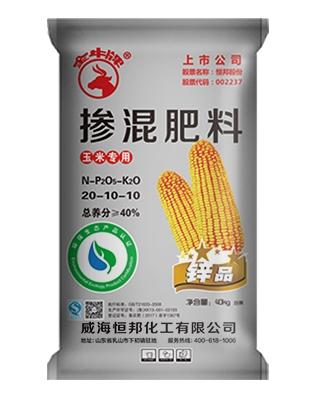 含锌测土配方肥料20-10-10